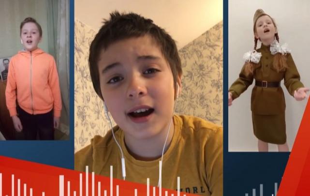 Невозможно смотреть без слез: ученики музыкальных школ Екатеринбурга спели «Темную ночь» онлайн