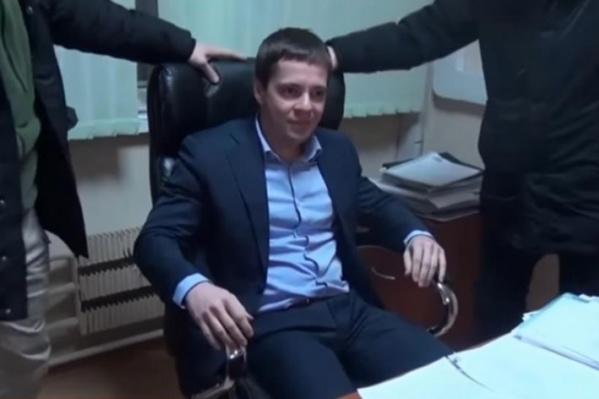 Игоря Разунина задержали в его собственном кабинете