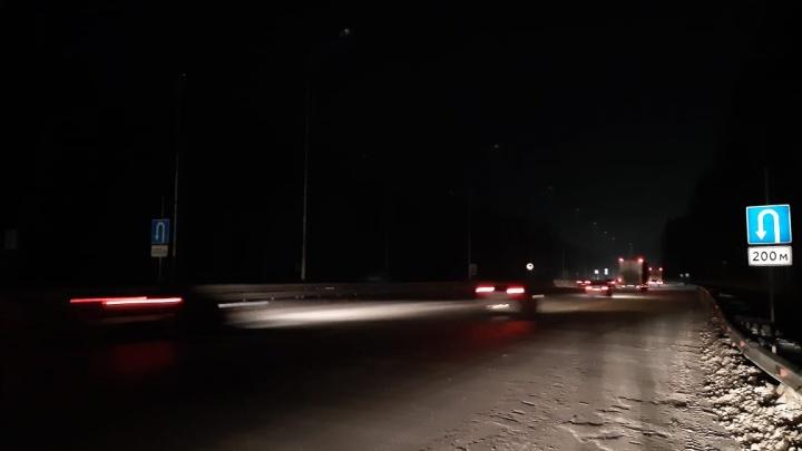На Тюменском тракте запретят разворот на опасном участке