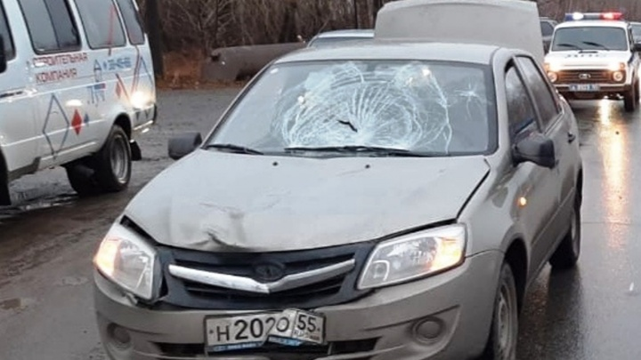 На Губкина две машины насмерть сбили пешехода