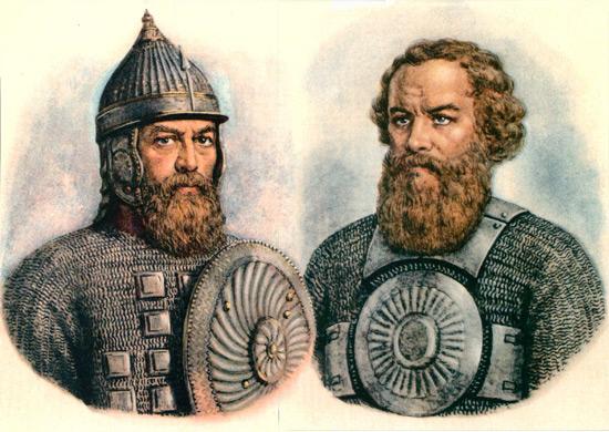 Историки нередко пытаются воссоздать облики Минина и Пожарского