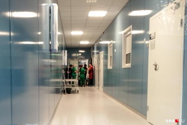 Первый госпиталь уже работает в ЦГБ