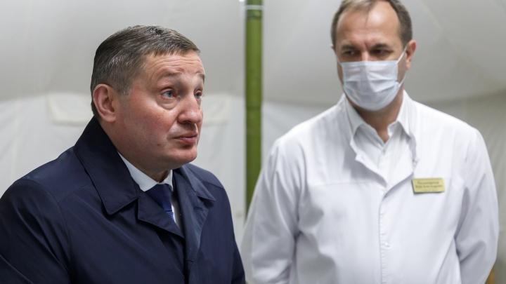 Губернатор вывел 30 чиновников штрафовать волгоградцев за нарушения антикоронавирусного режима