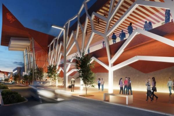 Торговый центр планируют открыть в конце 2020 года