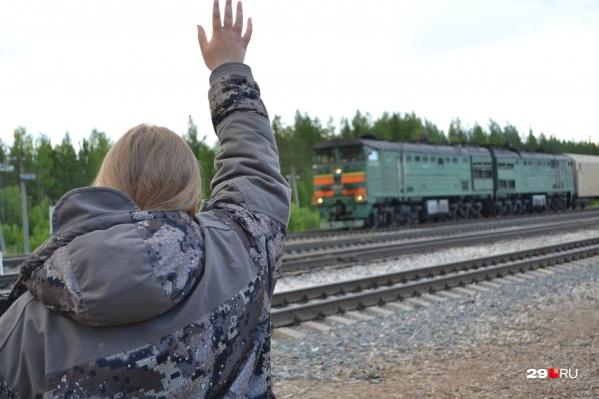 Железнодорожная станция закрыта для пассажиров уже больше года