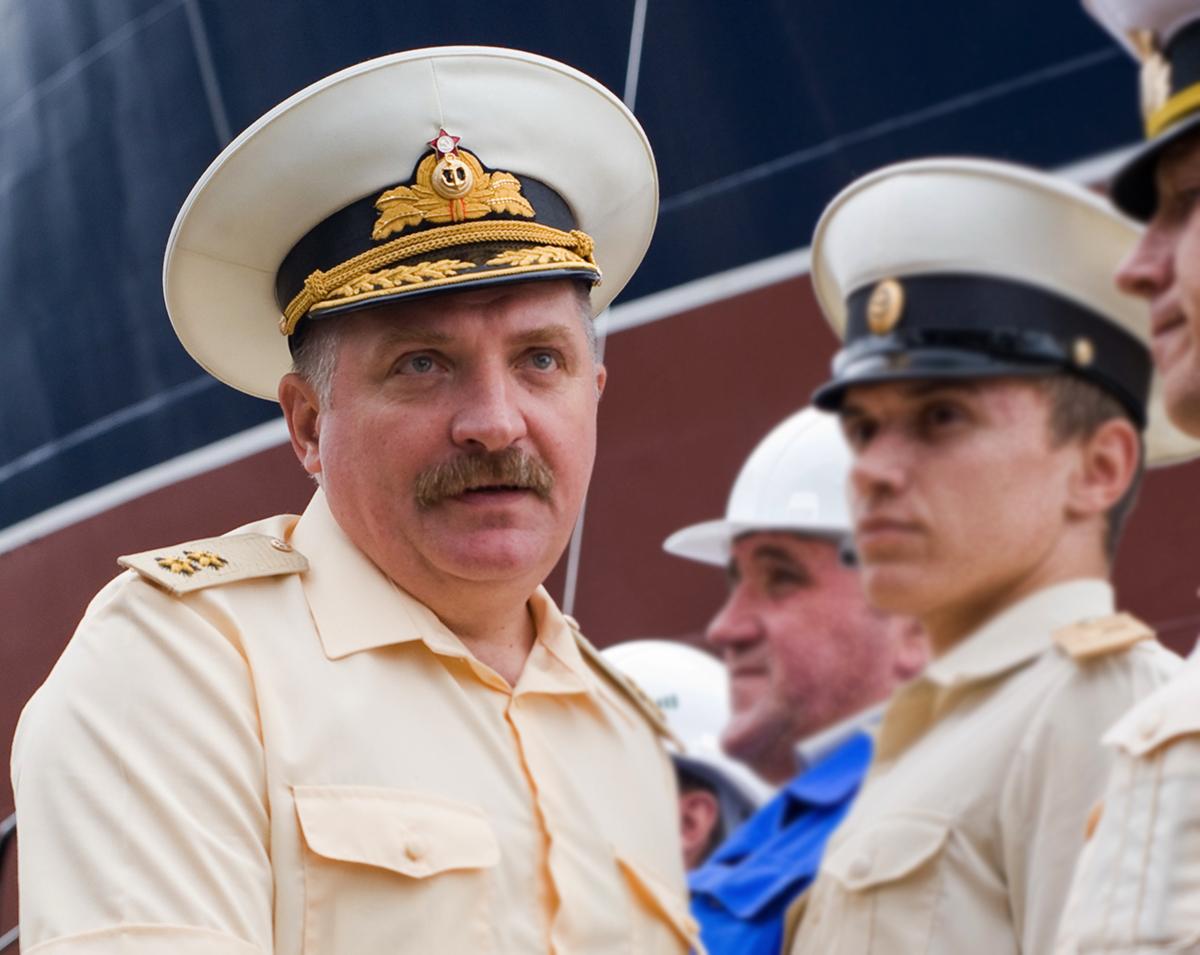 адмирал Алексей Буриличев