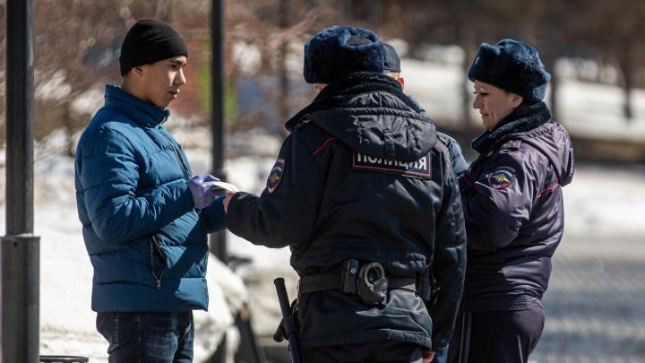 «Подходить к каждому»: врио губернатора — о том, как должна работать полиция в режиме самоизоляции