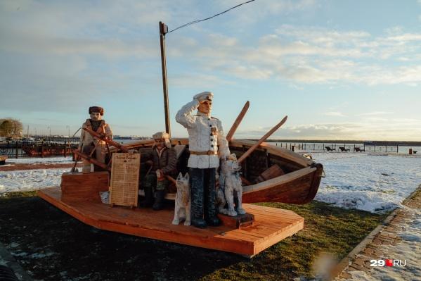 Как считает Марина Мохнаткина, каждый найдет для себя смысл в новых скульптурах «Тайболы» на набережной