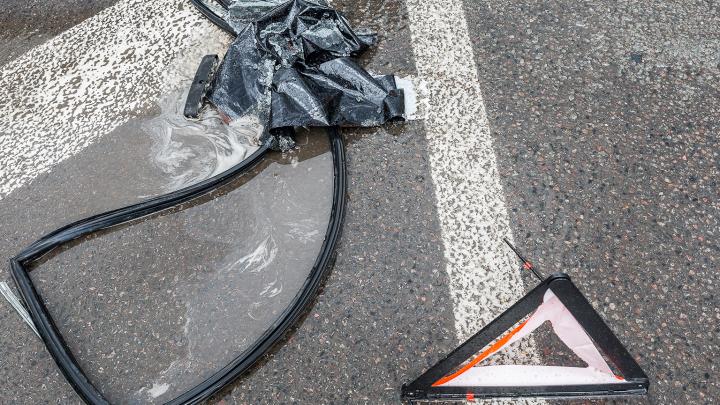 В Волгоградской области выпивший велосипедист устроил аварию и уехал в больницу