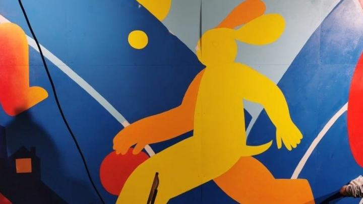 За тысячу дней до Универсиады в Историческом сквере появятся необычные граффити