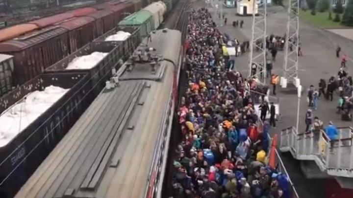 В кузбасских электричках будут штрафовать пассажиров