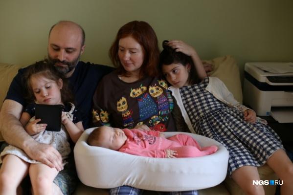 Сегодня, 23 июля, Софии Дарбинян исполнилось 5 месяцев