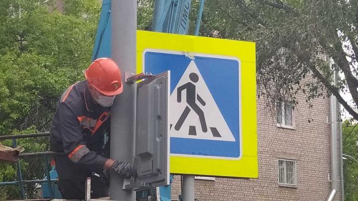 На опасных перекрестках Самары установят светофоры