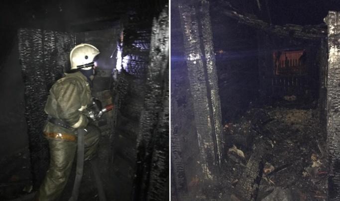 Следователи возбудили уголовное дело из-за гибели трёх человек в пожаре в Искитиме