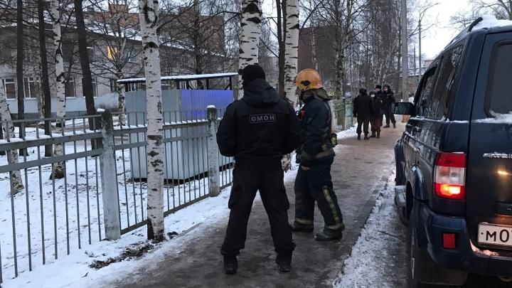 В Архангельске несколько школ получили сообщение о минировании