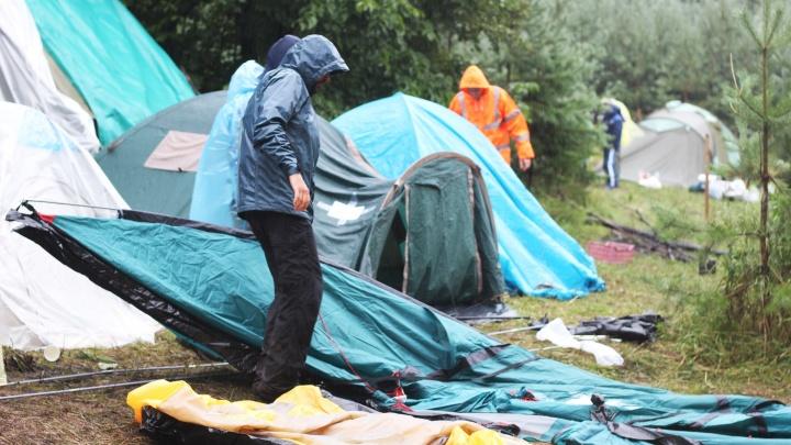 Борьба за Куштау: протестующие восьмой день находятся в палаточном лагере