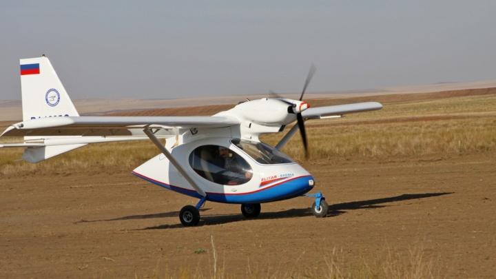В Зауралье следователи начали проверку из-за самолета, севшего на трассу