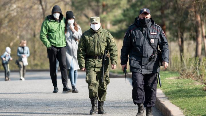 В Волгограде побит рекорд по массовому выходу горожан на улицу во время самоизоляции по коронавирусу