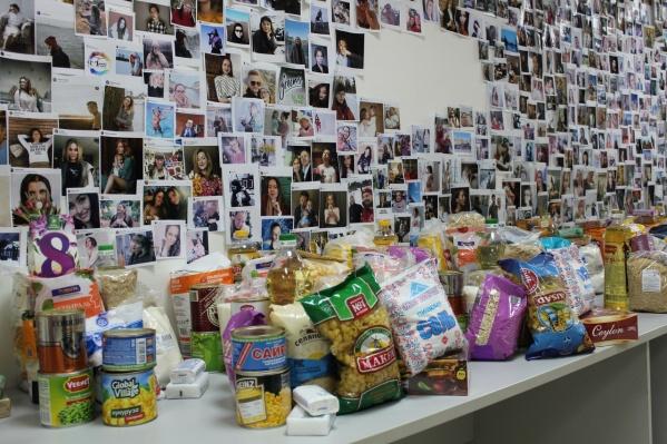 «Немузей мусора» на время превратился в центр сбора продуктов для нуждающихся горожан