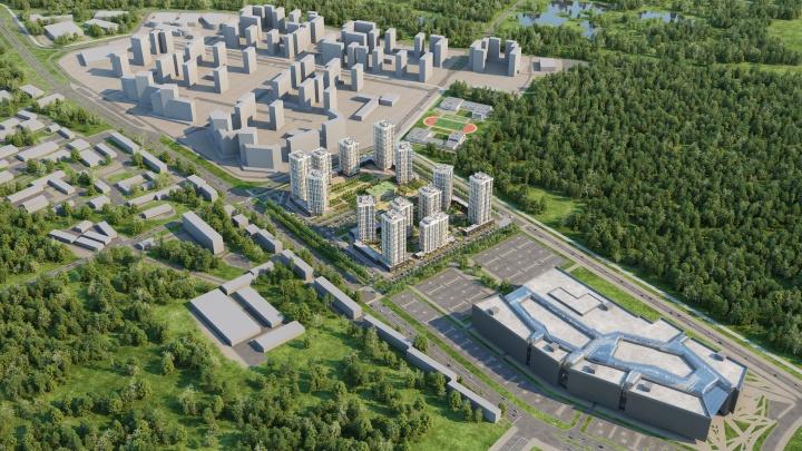 На окраине Уралмаша построят две школы, пять детских садов и поликлинику