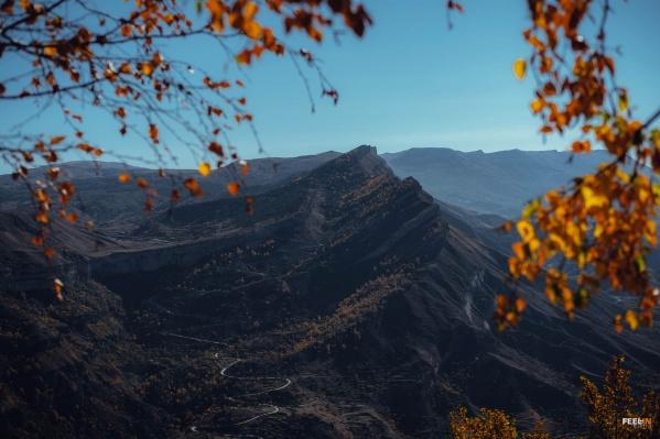В Дагестане очень красивые горы