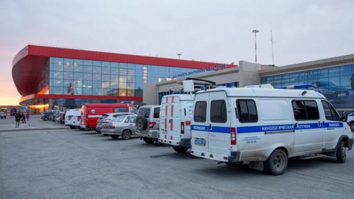 В челябинском аэропорту задержали рейс в Крым из-за сообщения о минировании самолёта