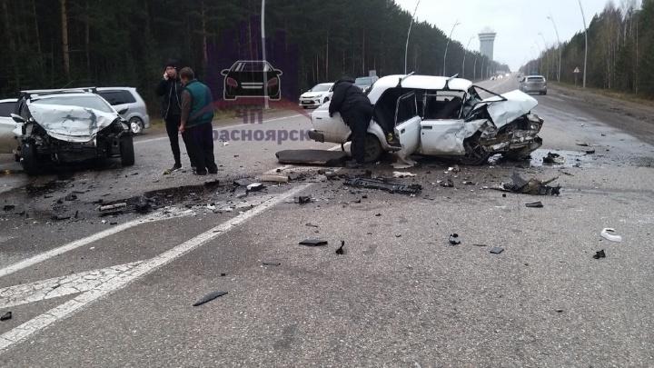 Родился в рубашке: водитель «семерки» чудом выжил в лобовом столкновении на трассе