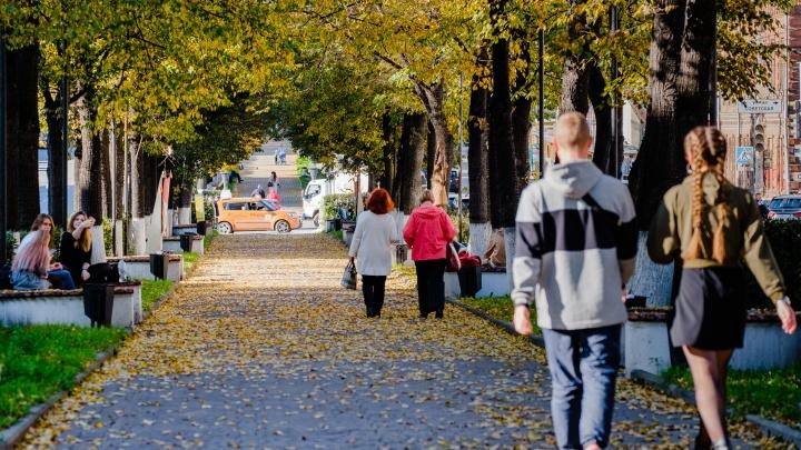 Потепление и резкое похолодание: рассказываем о погоде на выходные в Прикамье