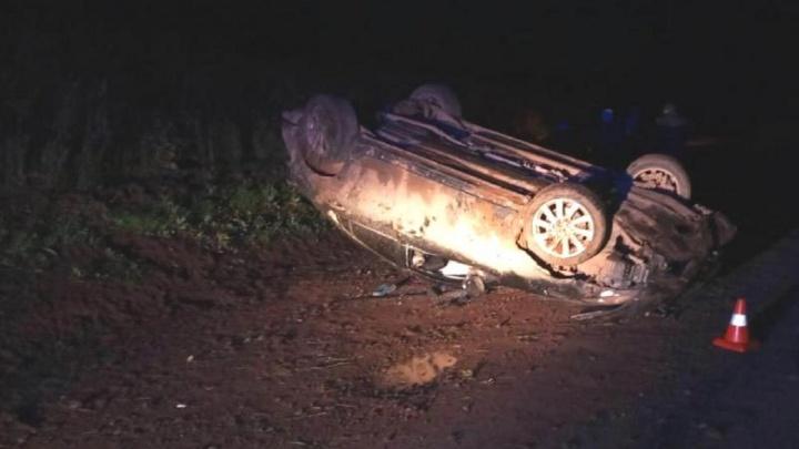 В Прикамье водитель иномарки погиб в ДТП на трассе