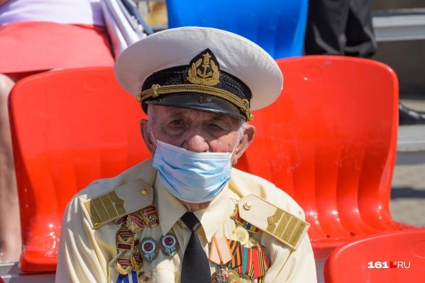 В Ростовской области проживает 25,9 тысячи ветеранов Великой Отечественной войны, из них 1,3 тысячи человек — фронтовики