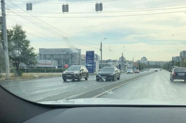 BMW 750Li Анатолия Захарчука в день поломки