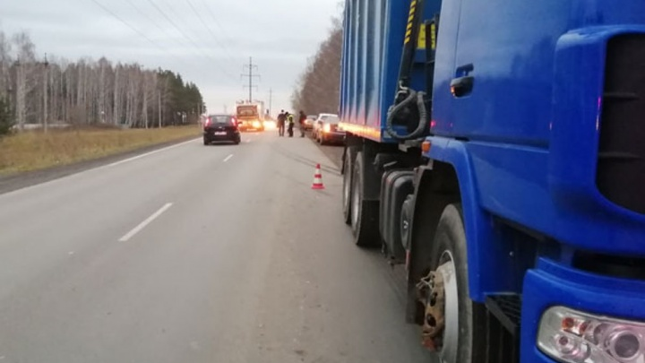 «Неожиданно начал перебегать дорогу»: под Екатеринбургом грузовик МАЗ насмерть сбил мужчину