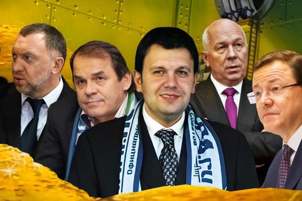 ФК существовал и существует на деньги бизнесменов и регионального бюджета