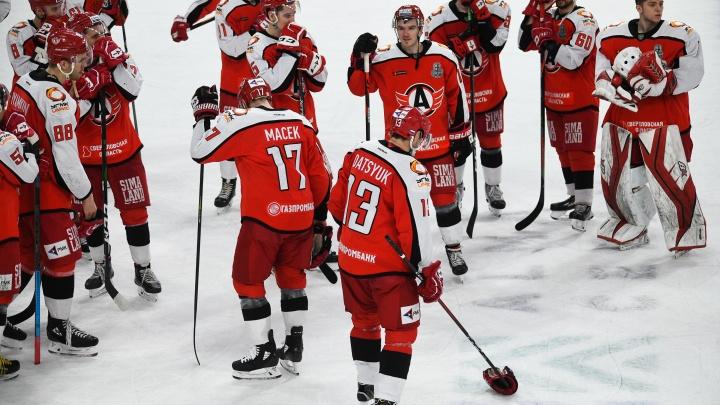Хоккеисты «Автомобилиста» второй раз подряд проиграли нижегородскому «Торпедо»