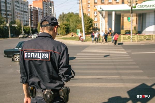 Полицейские получили ориентировку