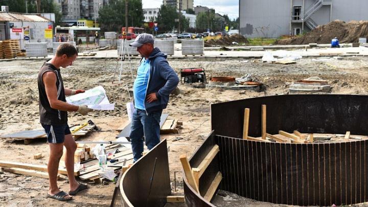 Детей и стариков — в разные зоны: у архитекторов появились претензии к строящемуся в Ярославле скверу