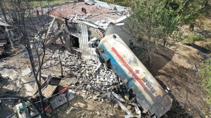 В результате взрыва на АЗС пострадали три сотрудника «Концессий водоснабжения»
