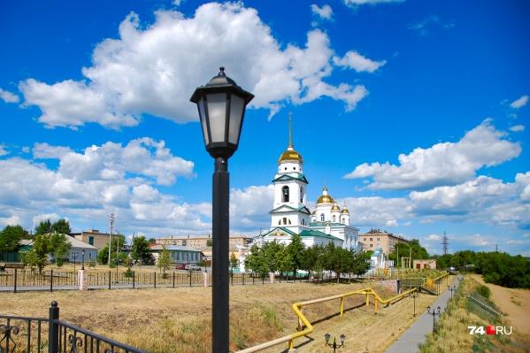 В Троицке очень много церквей, но есть и кое-что ещё