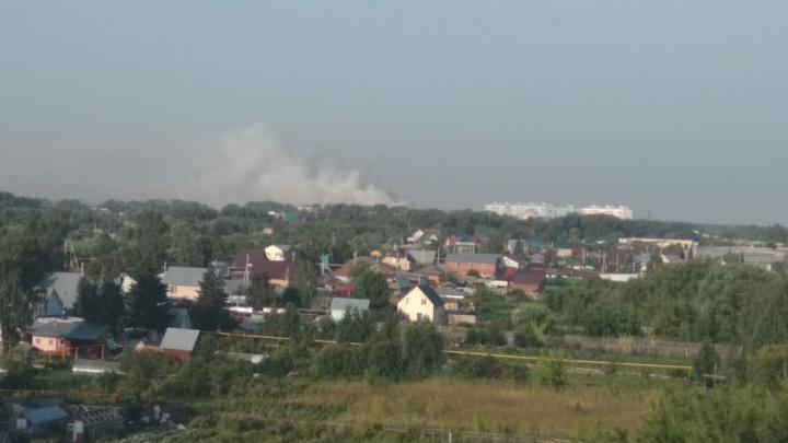 В районе Хилокского рынка поднялся дым — рассказываем и показываем, что там происходит