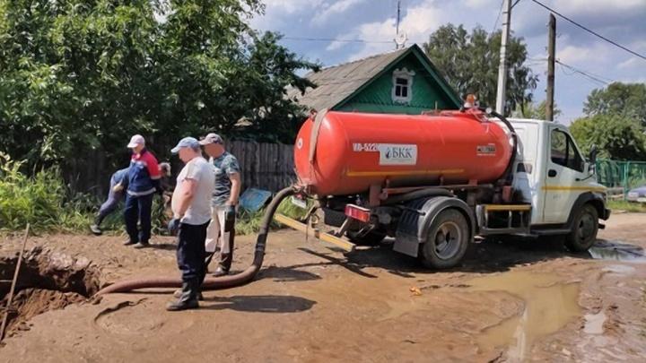 В Балахне треть города оказалась без холодной воды