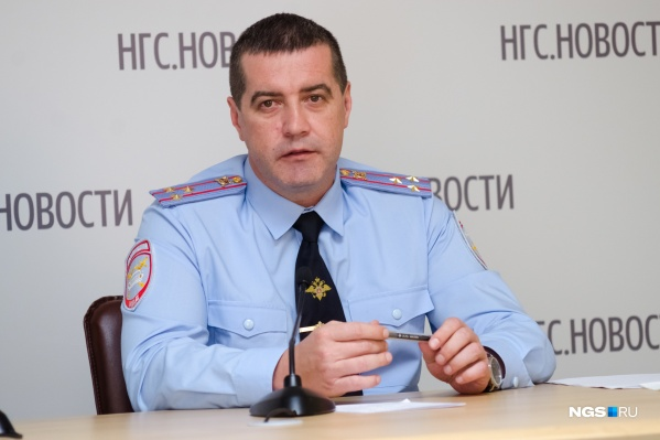 Сергей Штельмах на интервью в редакции НГС, 2015 год