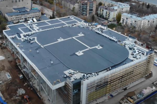 Сдать комплекс планируют в 2021 году