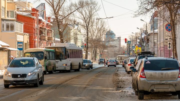 Видеосхема: где в Самаре сделают платные парковки