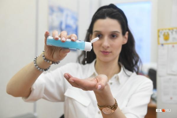 Применение антисептика не будет эффективно, если мы не станем мыть руки