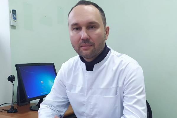 Денис Алексеев перешел на новую должность из клиник СамГМУ
