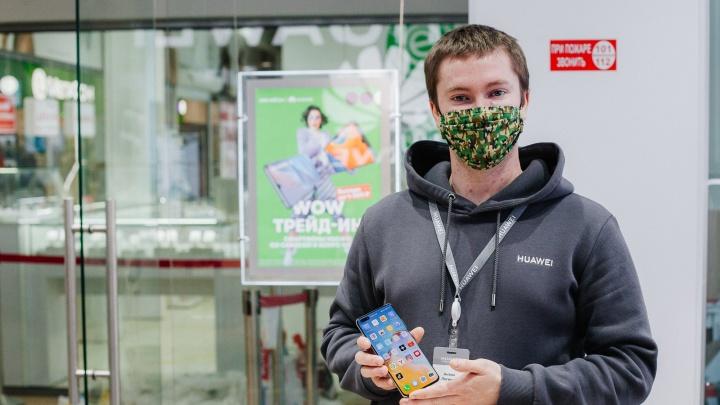 На модные гаджеты — скидки до 4000 рублей: в Екатеринбурге открылся новый магазин Huawei