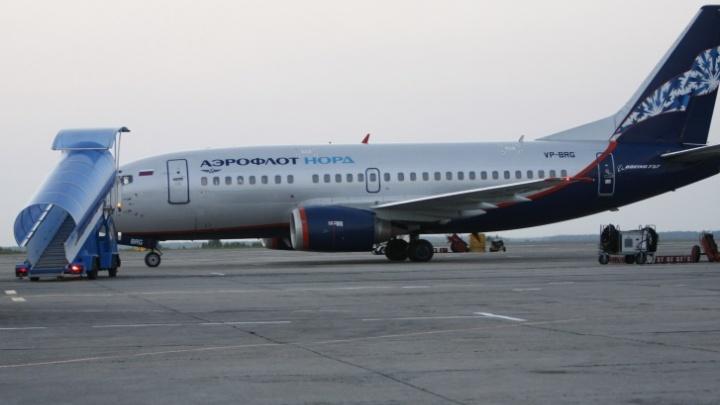 В челябинском аэропорту встретили «заминированный» самолёт из Москвы