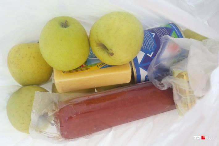 Например, в Тюменизнание— с сыром