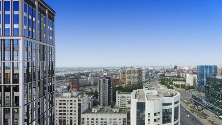 В Новосибирске строят жилой комплекс как в заокеанских мегаполисах — он похож на небоскребы Чикаго и Нью-Йорка