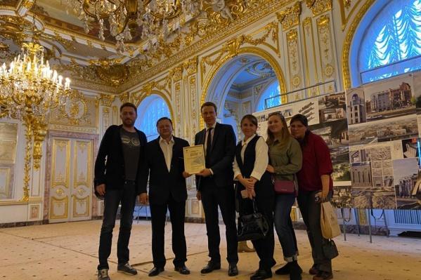 Специалисты по реставрации из Красноярского края получили золотой диплом на престижном фестивале